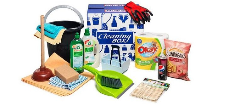 Cleaning-box