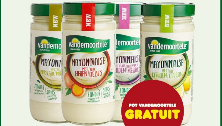 mayonnaise vandemoortele