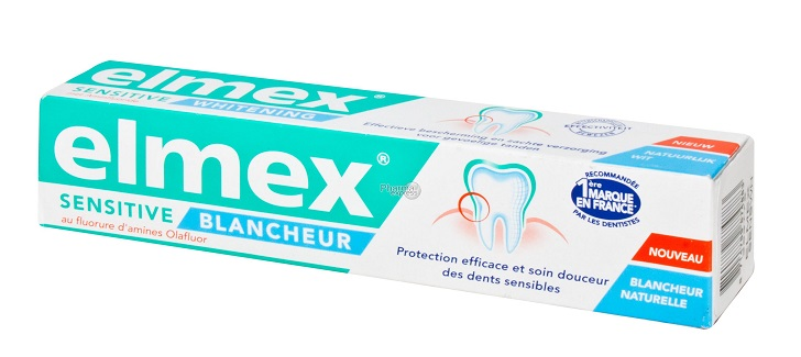 elmex sensitive blancheur