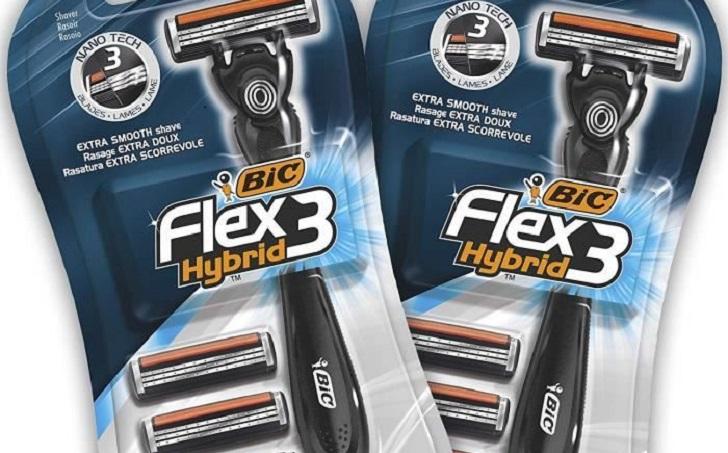 rasoir bic hybrid 3 flex